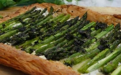 Recipe of the Month – April 2018 – Asparagus Tart
